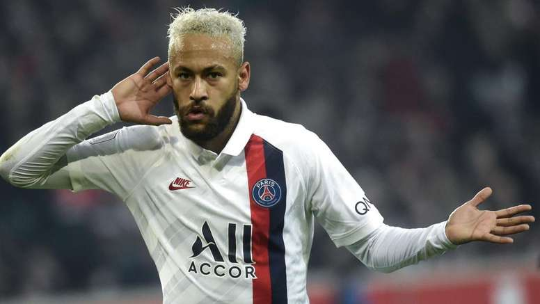 Neymar voltou as Champions. Goal