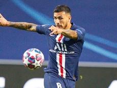 Leandro Paredes touché à la cuisse. goal