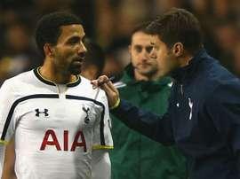 Pochettino offers Lennon Tottenham's full support. AFP