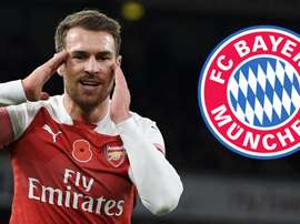 Aaron Ramsey Arsenal Bayern Munich GFX. Goal