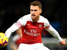 Aaron Ramsey has been challenged by his manager. GOAL