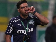 Abel Ferreira leu livro de Marcelo Gallardo antes da semifinal. EFE