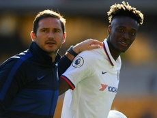 Lampard hopes Abraham is selected for England by Southgate. GOAL