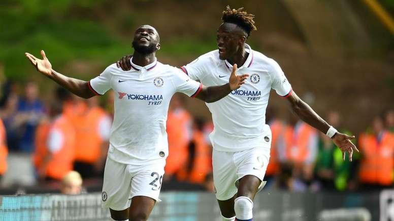 English kids leading Chelsea. GOAL