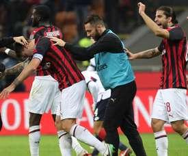 Milan, gagnant sur le fil. Goal
