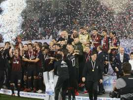 The Italian Super Cup final is to be played in the Middle East in January. GOAL