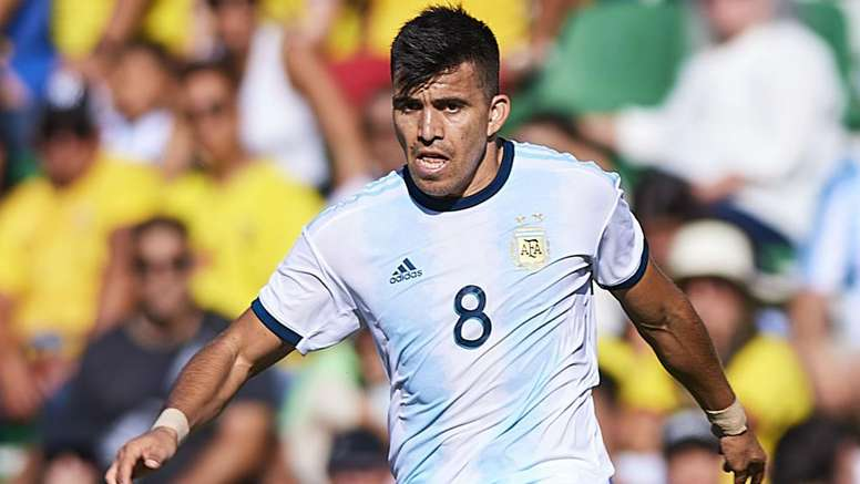 Acuna was praised highly by teammate Lucas Alario in Argentina's 6-1 win v Ecuador. GOAL