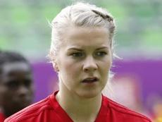 Ada Hegerberg won the women's balon d'or. GOAL
