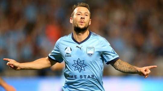 Le Fondre broke the deadlock 16 minutes. AFP