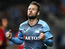 Le Fondre scored the only goal of the game. GOAL
