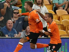 Taggart's brace secured a 2-0 success over Melbourne City. GOAL