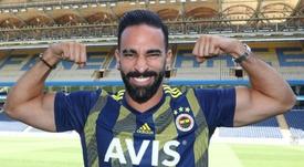 Adil Rami à Fenerbahçe après son départ de l'OM. AFP