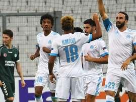 Adil Rami, Marseille-Konyaspor, Europa League. GOAL