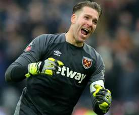 Adrian San Miguel has joined Liverpool from West Ham. GOAL
