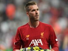 Adrian suffered an injury in the Super Cup celebrations. GOAL