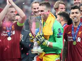 Klopp hails Adrian after Super Cup