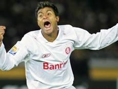 Adriano Gabiru, responsável pelo gol do título mundial do Internacional.