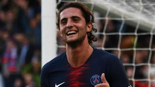 Adrien Rabiot PSG Paris Saint-Germain 2018-19. Goal