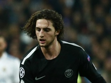 UEFA have rejected PSG's appeal against a yellow card shown to Adrien Rabiot. GOAL