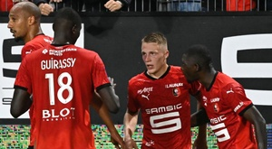 Rennes - Monaco (2-1), le novice Truffert et Rennes renversent Monaco. goal