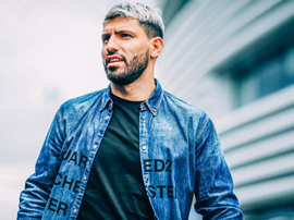 Man City go double denim for Champions League trip to Madrid. GOAL