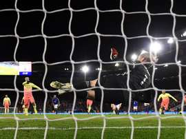 Man City may have to change their penalty taker after Aguero missed another pen. GOAL