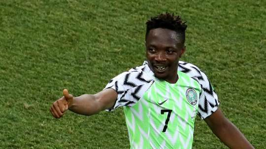 Musa was his nation's star man on Friday. GOAL