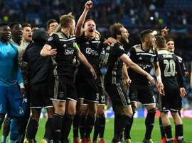 Ajax pulled off an unlikely victory over Real Madrid at the Bernabeu. GOAL