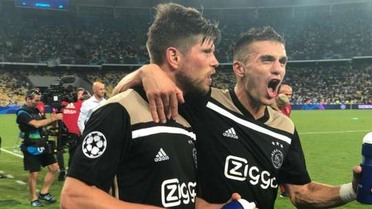 Ajax, AEK and Young Boys reach Champions League group stage
