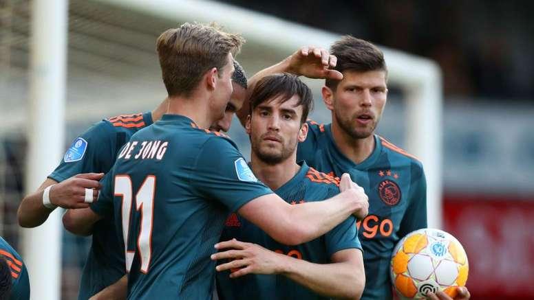 Ajax confirm double delight at De Graafschap. Goal