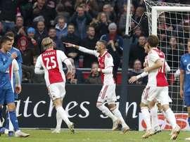 L'Ajax a contrôlé la rencontre. Goal
