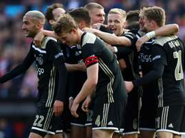 Ajax clinched the Dutch Cup with a 4-0 win over Willem II. GOAL