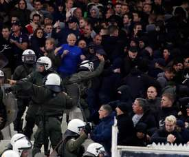 Ajax vs AEK Athens. Goal