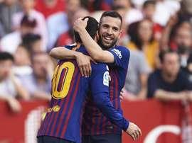 Jordi Alba has signed a deal keeping him at Barcelona until 2024. GOAL