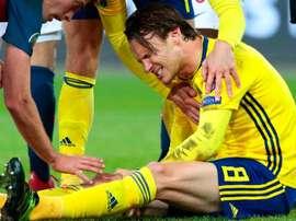 Albin si è fatto male durante Norvegia-Svezia. Goal
