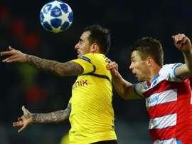 Dortmund couldn't find a way through. GOAL