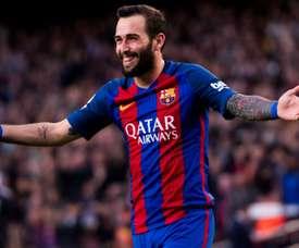 Aleix Vidal nears Barcelona exit. Goal