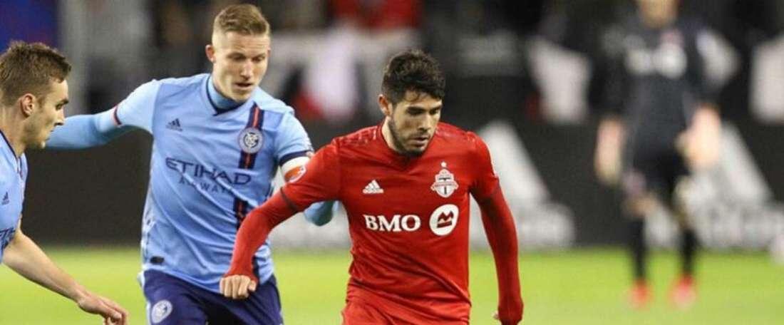 Toronto 4 New York City 0: Two-goal Pozuelo enjoys stunning debut. Goal
