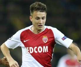 Golovin à l'AS Monaco. Goal
