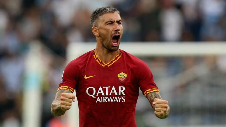 Kolarov put Roma in front in the Rome derby, but it ended in a draw. GOAL