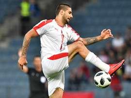 Mitrovic espera marcar à Suíça. Goal