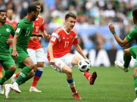 Golovin was a key player in the Russian national team this World Cup. Goal