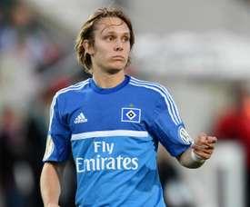 Alen Halilovic in action with Hamburg. Goal