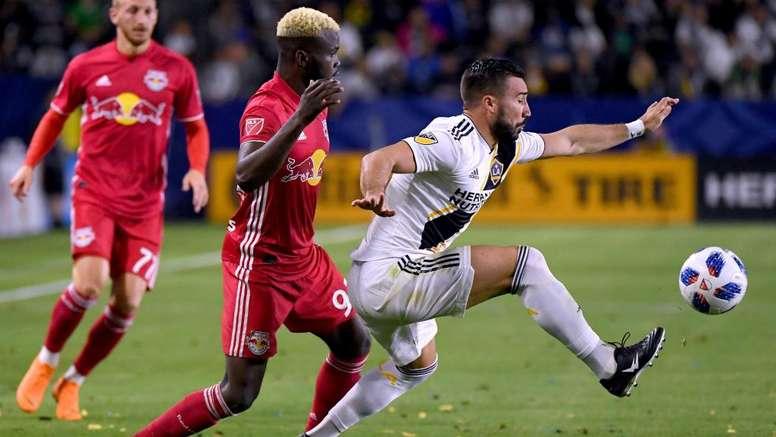 Romain Alessandrini's goal was the decider in the LA derby. GOAL