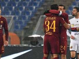 La Roma ritrova la vittoria. Goal