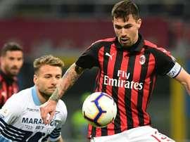 Milan, doppia tegola: Romagnoli e Calabria ko contro la Lazio. Goal