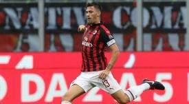Romagnoli allontana la Juventus. Goal