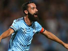 Brosque hat trick inspired his side. GOAL