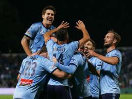 Sydney FC thrashed Melbourne Victory on Sunday. GOAL
