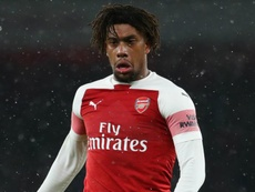 Alex Iwobi could leave Arsenal if Zaha joins the club. GOAL